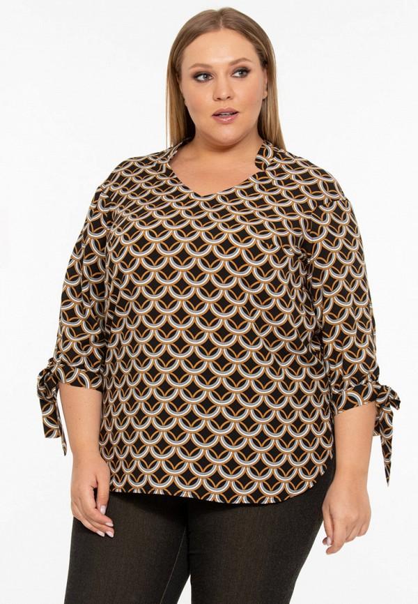 Фото 2 - Блузу Intikoma коричневого цвета