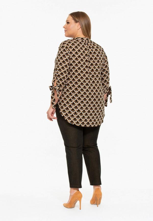 Фото 3 - Блузу Intikoma коричневого цвета