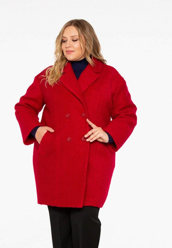 женское пальто intikoma, красное