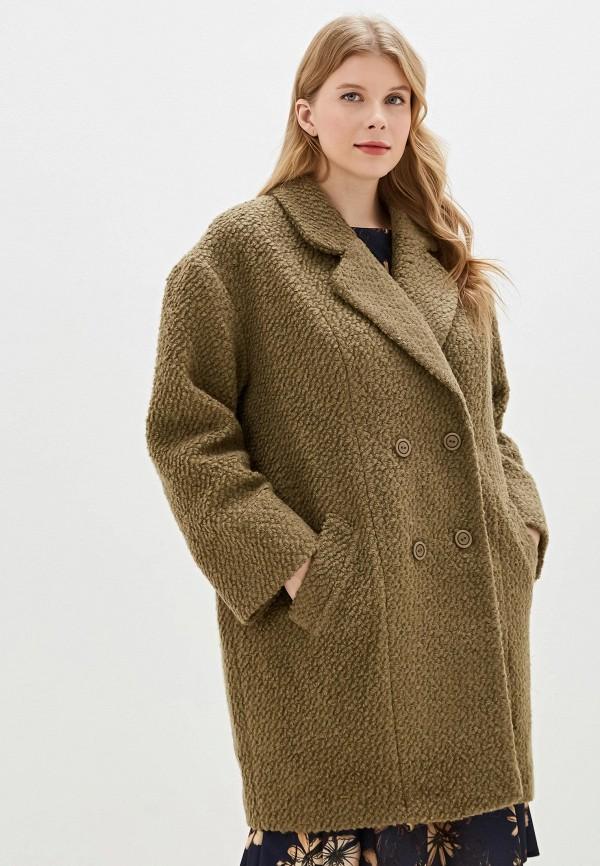 женское пальто intikoma, коричневое