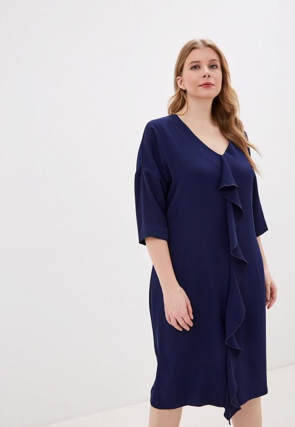 женское повседневные платье intikoma, синее