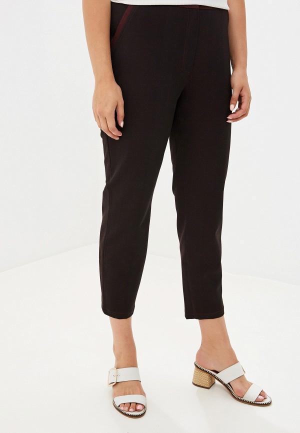женские зауженные брюки intikoma, бордовые