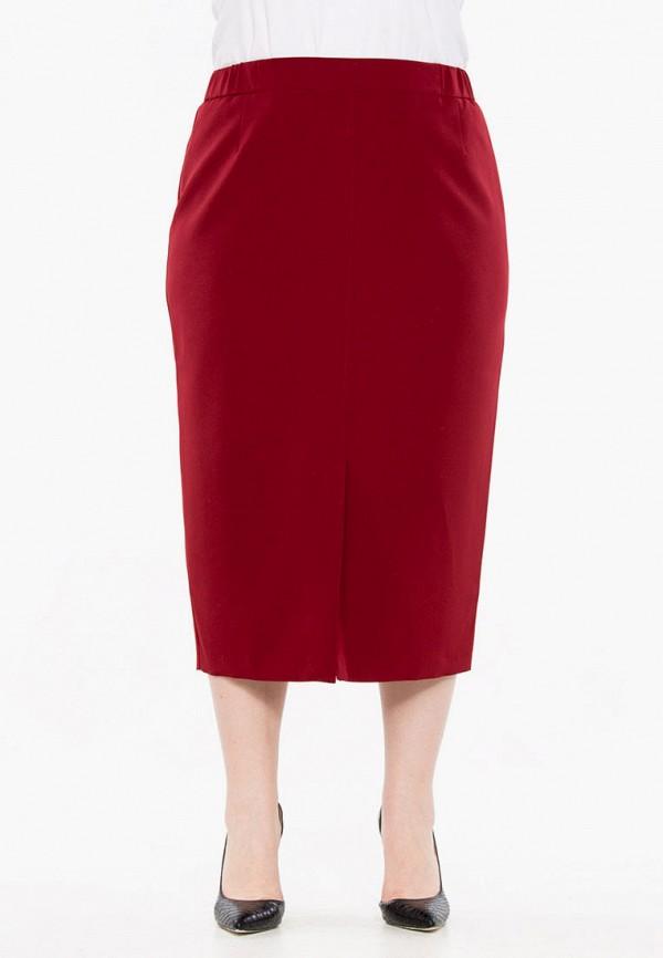 женская прямые юбка intikoma, красная