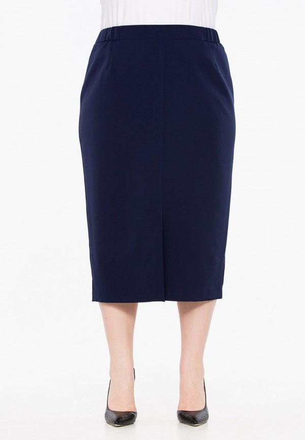 женская прямые юбка intikoma, синяя