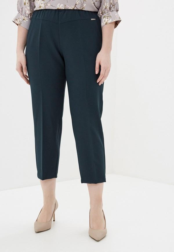 женские прямые брюки intikoma, зеленые