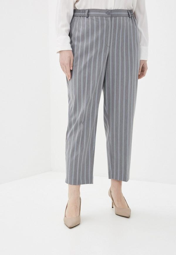 женские прямые брюки intikoma, серые