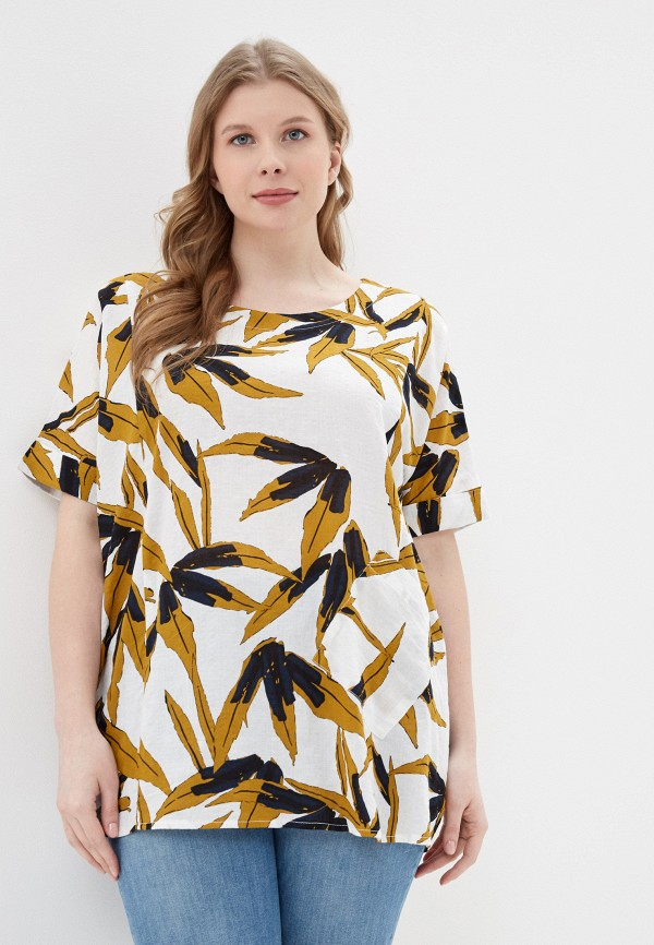 Фото - Блузу Intikoma белого цвета