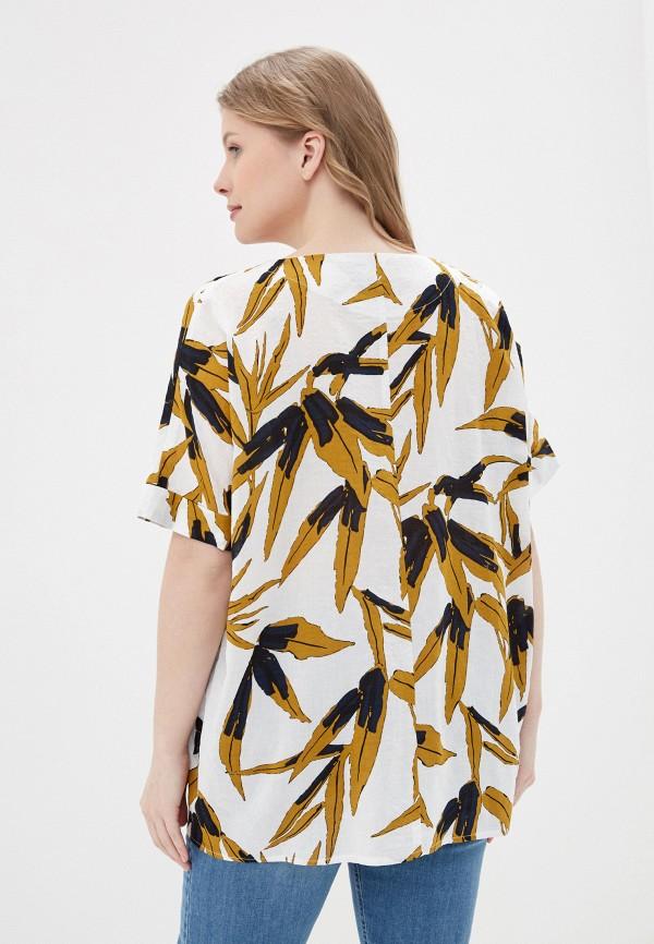 Фото 3 - Блузу Intikoma белого цвета