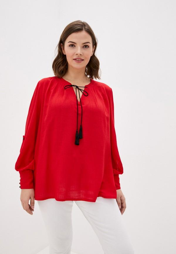 женская блузка intikoma, красная