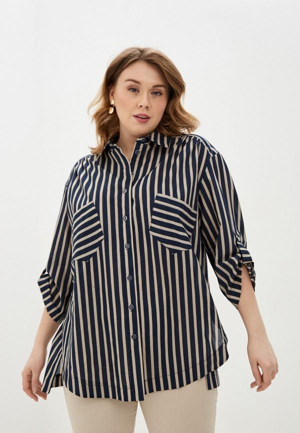 женская рубашка с длинным рукавом intikoma, коричневая