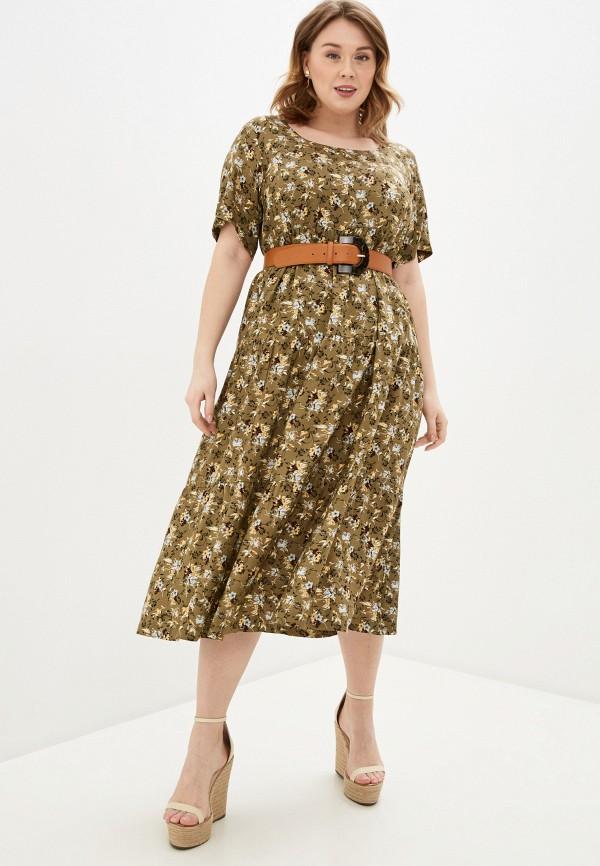 женское повседневные платье intikoma, хаки