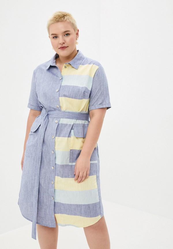 женское платье intikoma, голубое