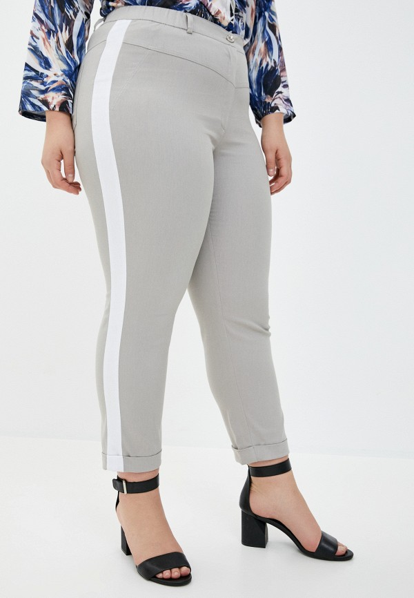 женские прямые брюки intikoma, бежевые