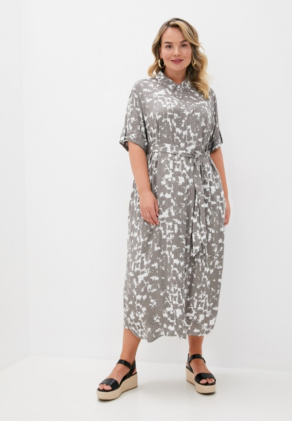женское платье intikoma, серое