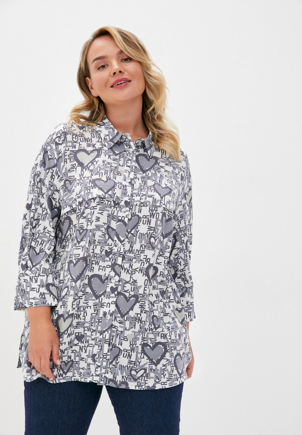 женская блузка intikoma, серая