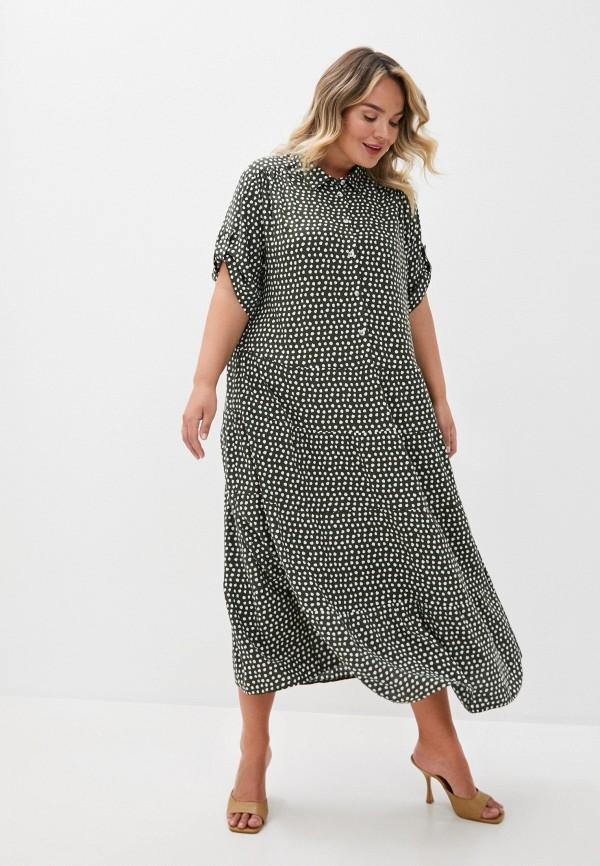 женское повседневные платье intikoma, зеленое
