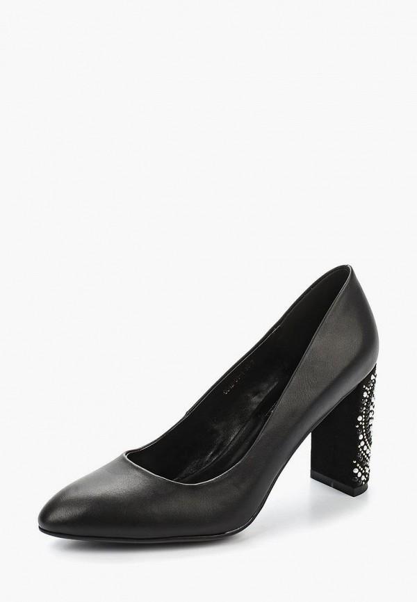 Купить Туфли Inario, in029awaoll6, черный, Весна-лето 2018