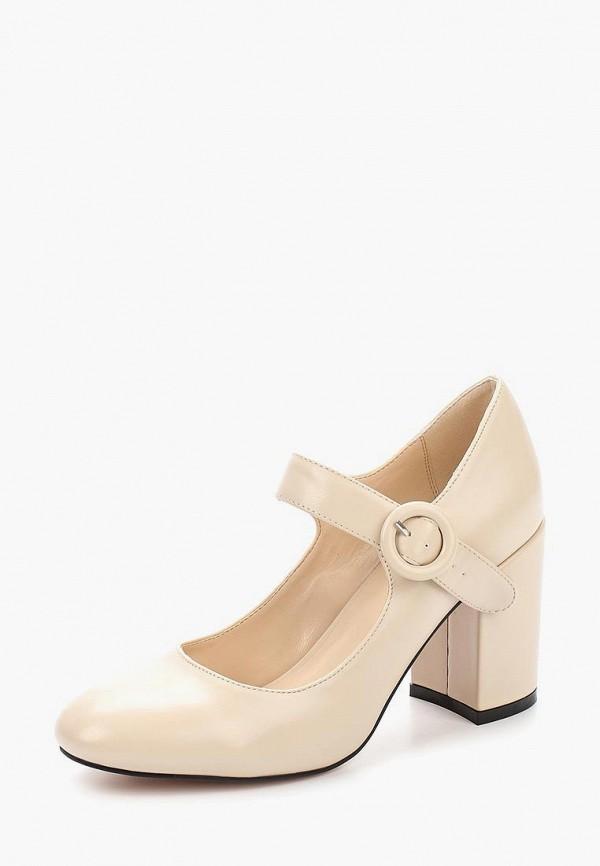 Купить Туфли Inario, IN029AWAOLO5, бежевый, Весна-лето 2018
