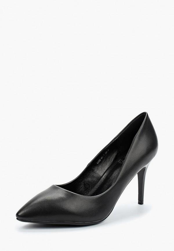 Купить Туфли Inario, in029awaolr1, черный, Весна-лето 2018