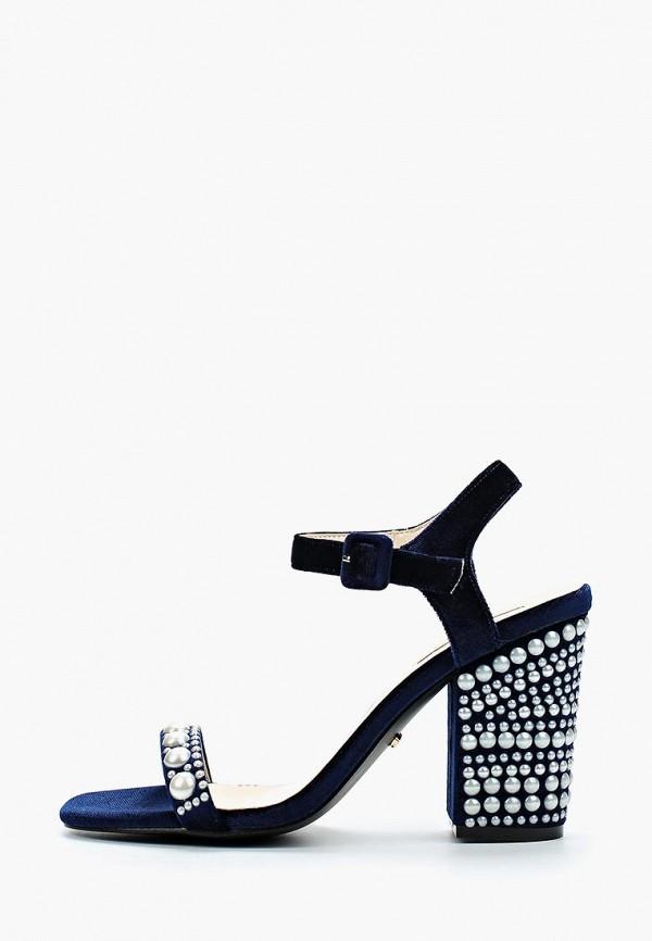 Купить женские босоножки Inario синего цвета