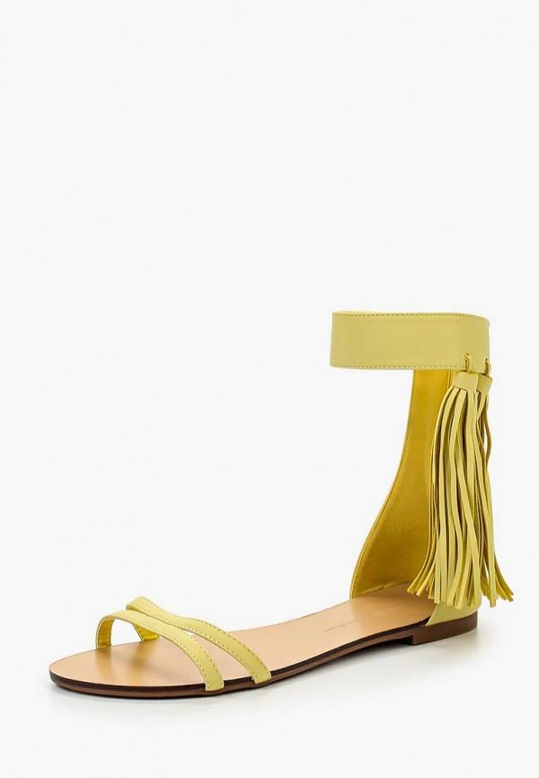 Купить Сандалии Inario, IN029AWIPU83, желтый, Весна-лето 2016