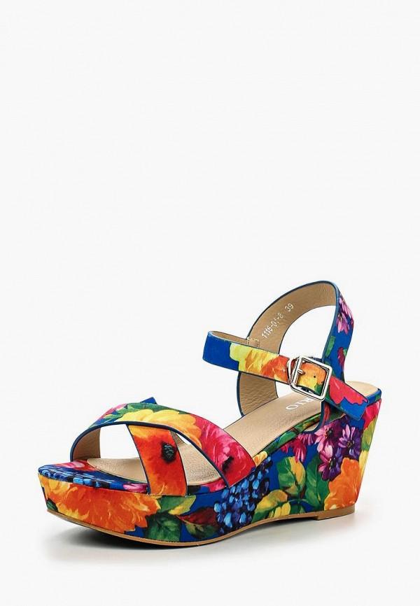 Купить Босоножки Inario, IN029AWIPV84, разноцветный, Весна-лето 2016
