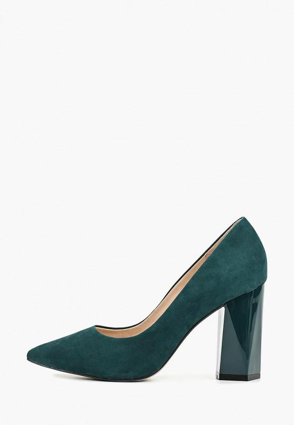 женские туфли indiana, зеленые