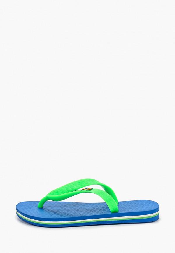сланцы ipanema для мальчика, зеленые