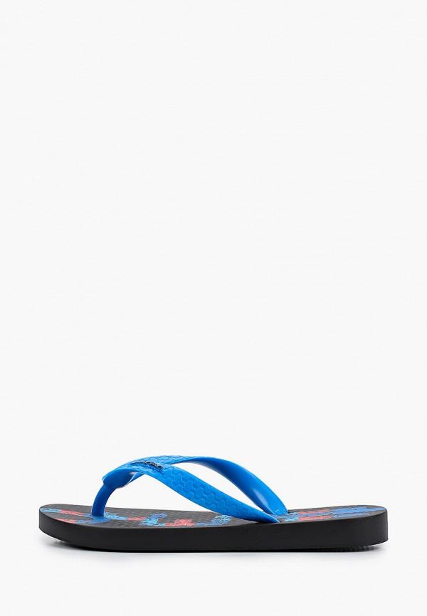 сланцы ipanema для мальчика, синие