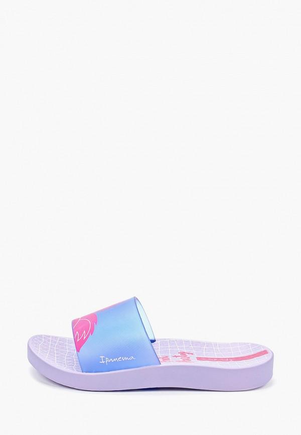 сланцы ipanema для девочки, фиолетовые