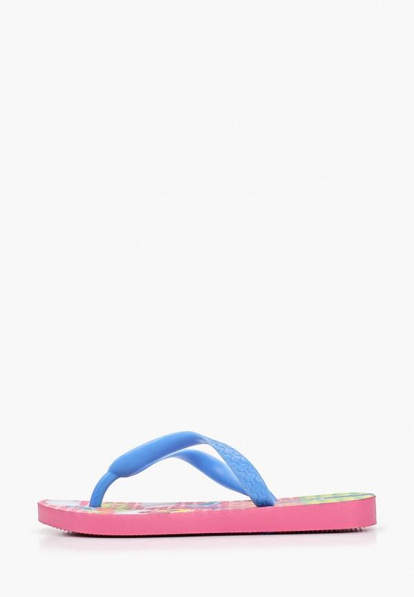 сланцы ipanema для девочки, разноцветные