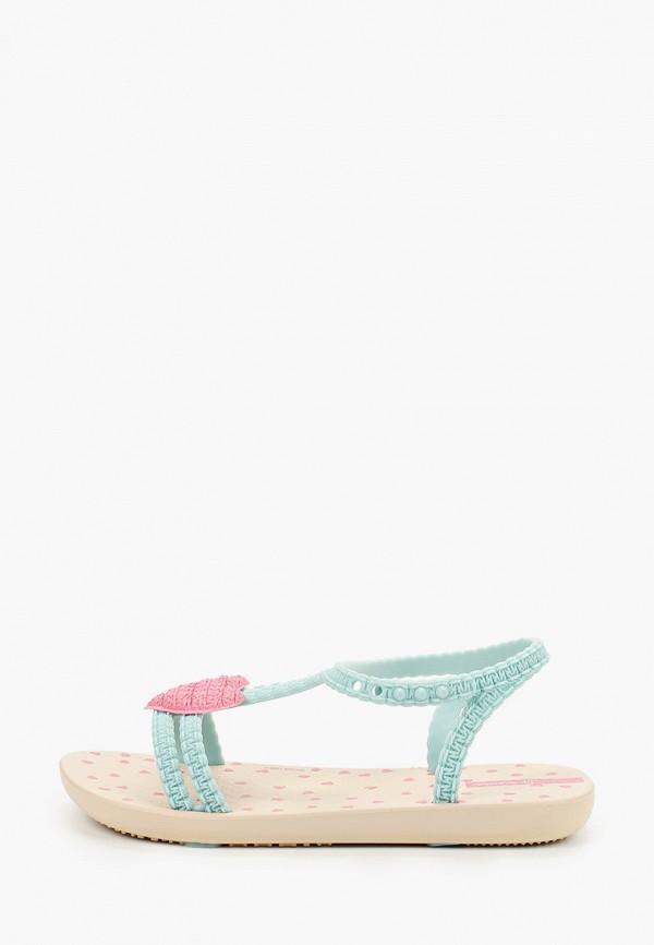 сандалии ipanema для девочки, бирюзовые