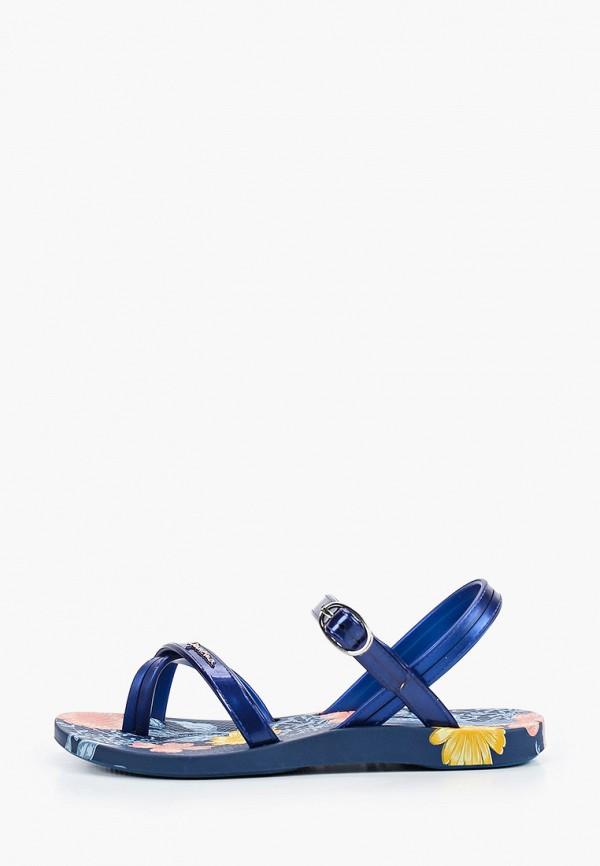 сандалии ipanema для девочки, синие