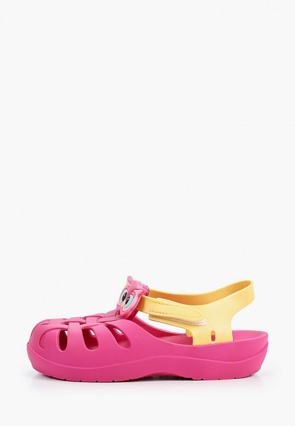 сандалии ipanema для девочки, розовые