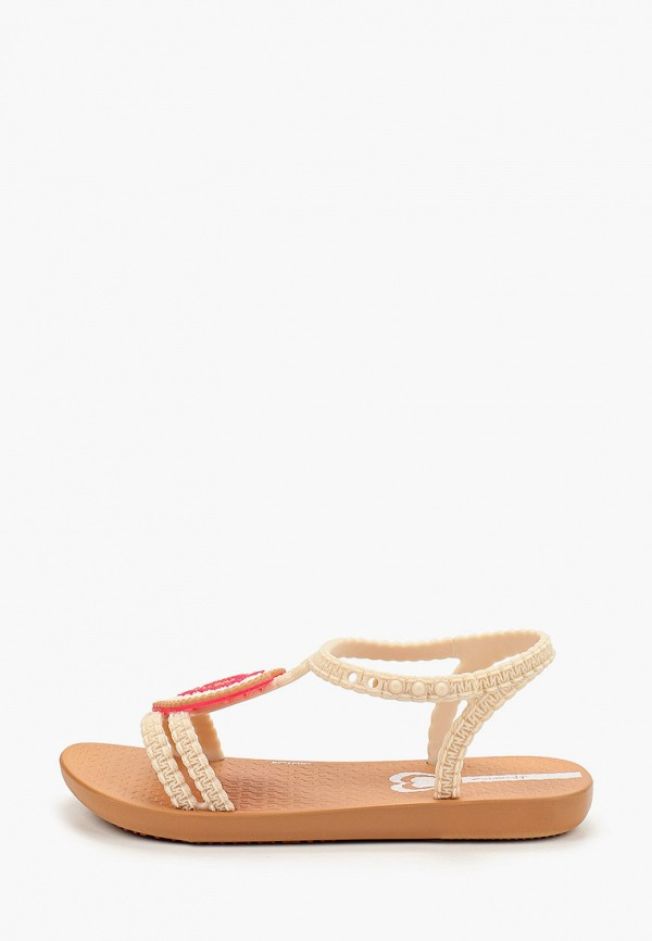 сандалии ipanema для девочки, бежевые