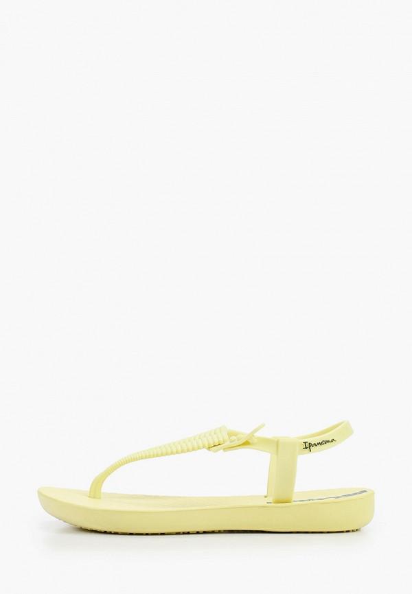 сандалии ipanema для девочки, желтые