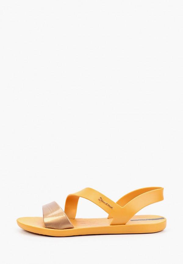 женские сандалии ipanema, оранжевые