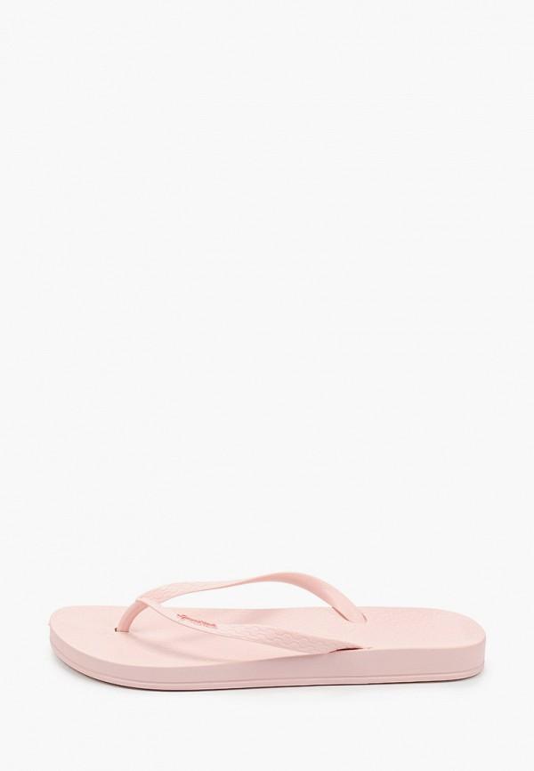 женские сланцы ipanema, розовые