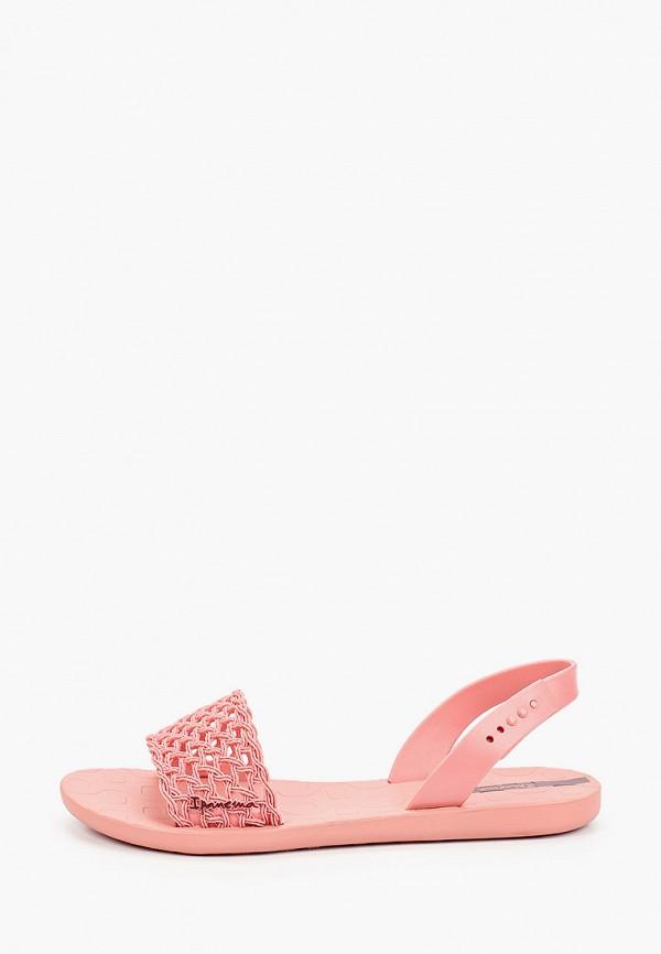 женские сандалии ipanema, розовые