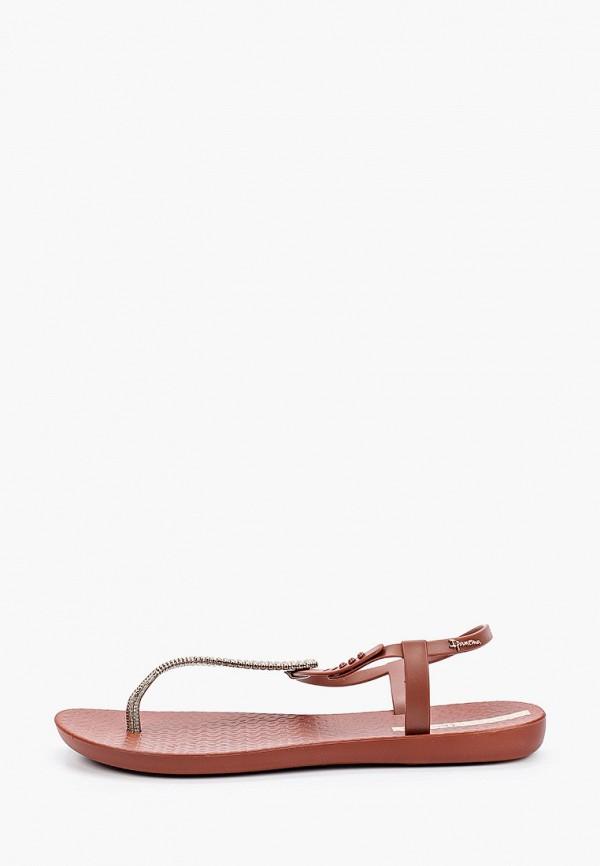женские сандалии ipanema, коричневые
