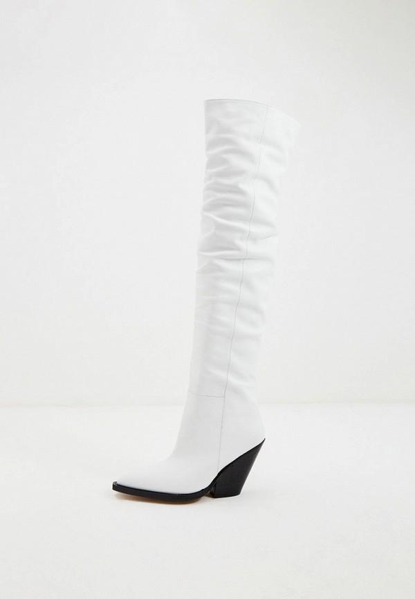 женские ботфорты iro, белые