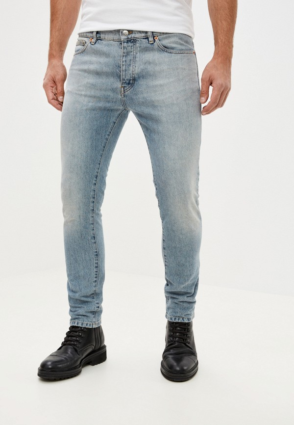 мужские зауженные джинсы iro, голубые