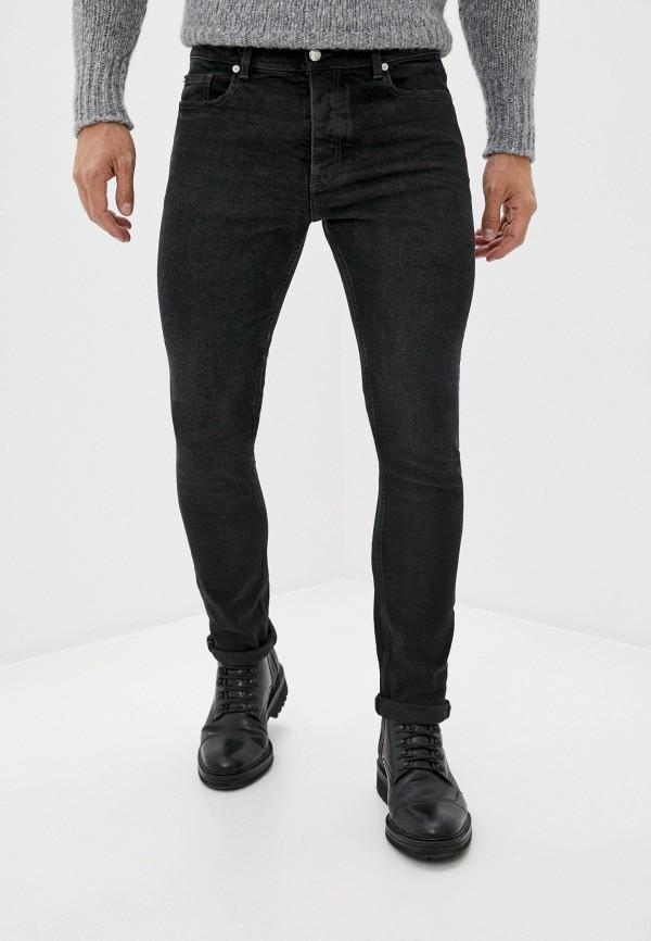 мужские зауженные джинсы iro, черные