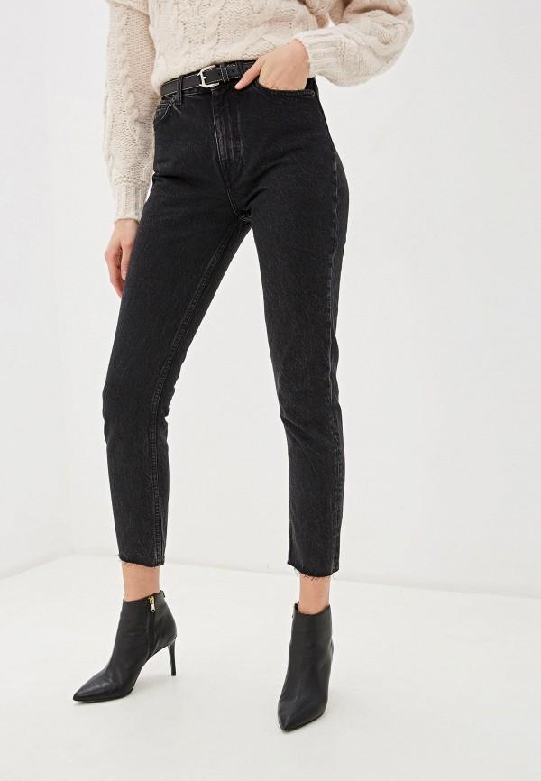 женские джинсы клеш iro, черные