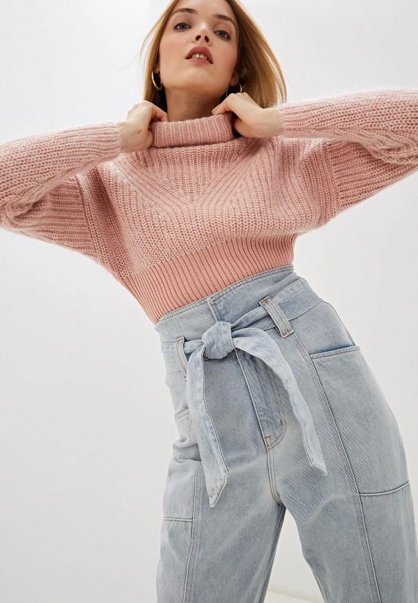 женский свитер iro, розовый