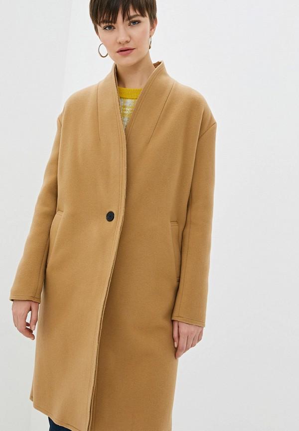 женское пальто iro, бежевое