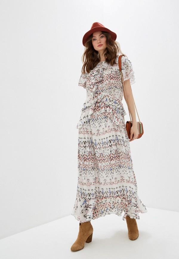 женское повседневные платье iro, белое