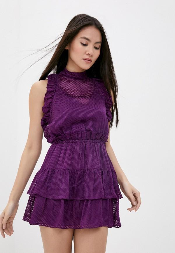 женское повседневные платье iro, фиолетовое