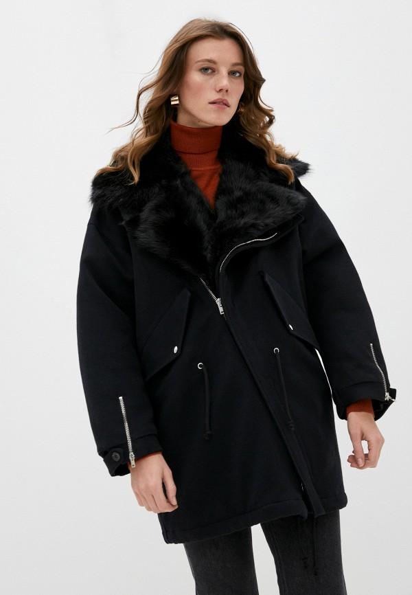 женское пальто iro, черное