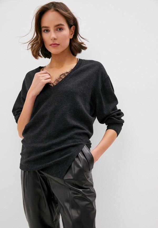 женский пуловер iro, черный